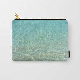 Colors of the Sea Water - Clear Turquoise Carry-All Pouch