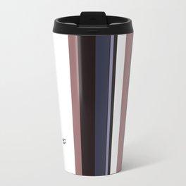 Kirovair Blocks Rosy Brown #minimal #design #kirovair #decor #buyart Travel Mug