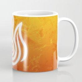 Avatar Fire Bending Element Symbol Coffee Mug