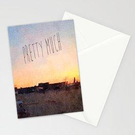 Pretty Much Stationery Cards