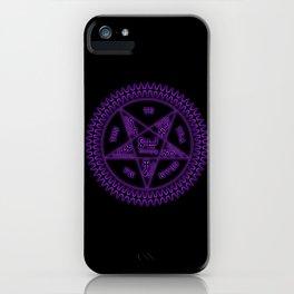 Sebastian Michaelis Sigil Dark (black bg) iPhone Case