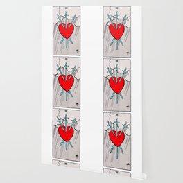 Three of Swords Tarot Wallpaper
