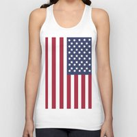 america Tank Tops featuring America. by Jake  Williams