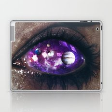 Ojos color galaxia Laptop & iPad Skin