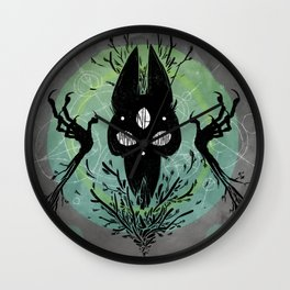 Good Omen - Ne Jamais Mourir Wall Clock
