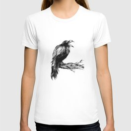 "Collection "" Nightmares"" impression ""Black Raven II"" T-shirt"