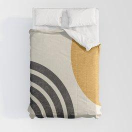 Mid century modern Sun & Rainbow Comforters