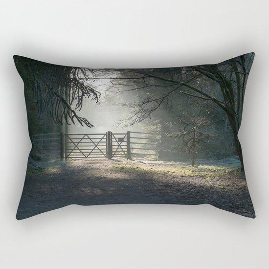Sunlit Gateway 2 Rectangular Pillow