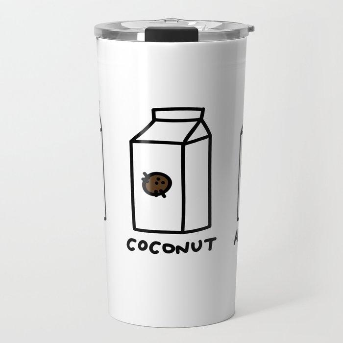 Soy Coconut Almond Travel Mug