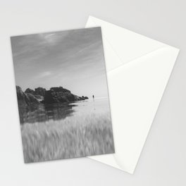 Reflective calm Stationery Cards