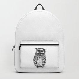 Inked Owl Backpack