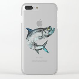 Tarpon Fish Clear iPhone Case