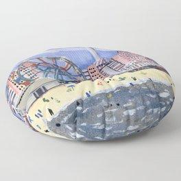 Coney Island Floor Pillow