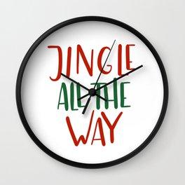 Jingle Wall Clock