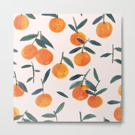 Clementines Metal Print