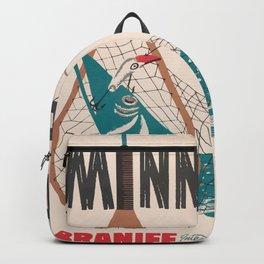 Vintage Minnesota Poster Backpack