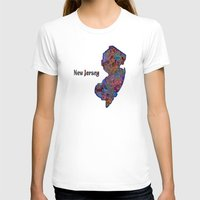 new jersey T-shirts featuring New Jersey by gretzky