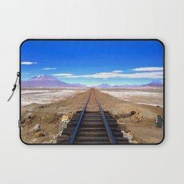 Bolivian Train Track Laptop Sleeve