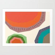 The Edge of the Sun Art Print