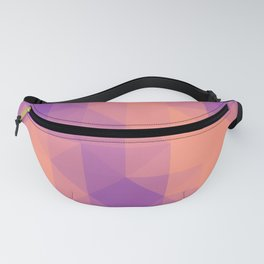 Triangulated grid #6 Fanny Pack