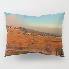 Clouds over the mountains II | landscape photography Pillow Sham