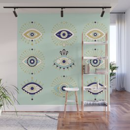 Evil Eye Collection Wall Mural