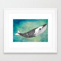 patrick Framed Art Prints featuring Patrick by Tuky Waingan