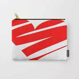 Stylized Heart Carry-All Pouch