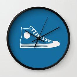 The Con Artist (Blue) Wall Clock