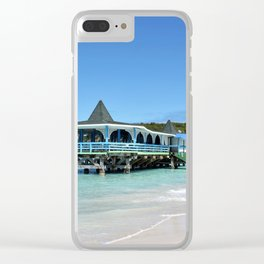 Antigua Paradise Beach Clear iPhone Case