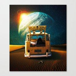 Unwind Canvas Print