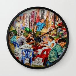 Binh Tay Market - Ho Chi Minh City   Wall Clock