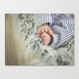 Tiny Toes Canvas Print