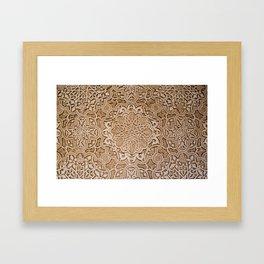 Alhambra lace Framed Art Print