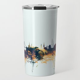 Istanbul Turkey Skyline Travel Mug