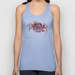 Crab Unisex Tank Top