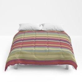 Pastel Colors Stripes Comforters