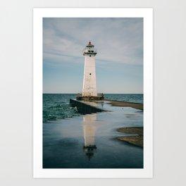 Sodus Point - New York, USA Art Print