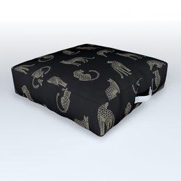 Leopard Pattern Outdoor Floor Cushion