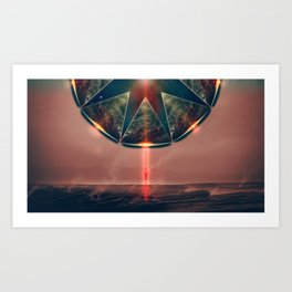 Alien force Art Print