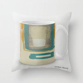 Soft And Bold Rothko Inspired Modern Art Coffee Mug Large Throw Pillow