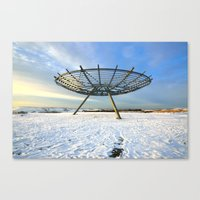 halo Canvas Prints featuring Halo by Best Light Images