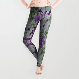 The Finer Side Of Purple Leggings