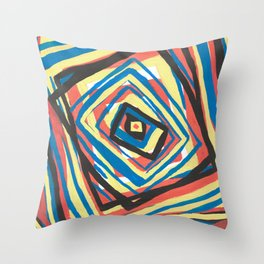 Squared Swirl Throw Pillow