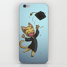 Graduate Cat iPhone & iPod Skin