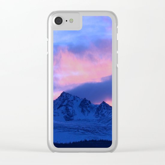 Serenity Rose Sunrise III Clear iPhone Case