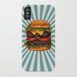 Cheeseburger - Double iPhone Case
