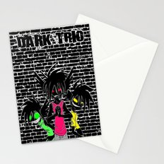 Dark Trio Stationery Cards