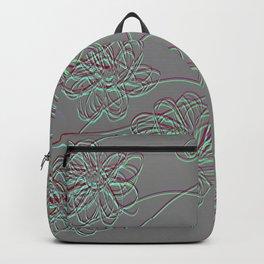 Embossed Garden Backpack