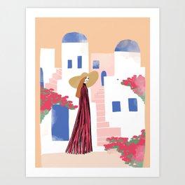 Cyclades Art Print